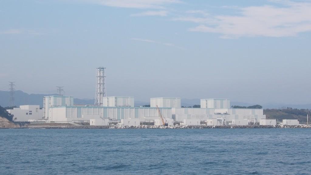 震災の傷跡はまったく感じられない福島第二原子力発電所